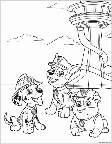 21 Paw Patrol Coloring Book in 2020 (With images) Paw