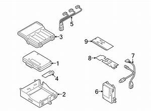 Audi Q5 Antenna  Gps  Bluetooth  System  Mast