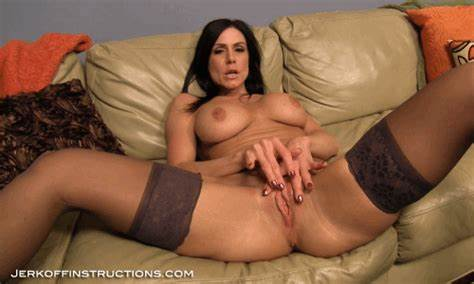 Violet Hairy Stepmom Jerking In Corset jerkoff instructions