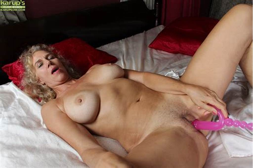 #Lewd #Mature #Blonde #Cally #Jo #Toying #Her #Hungry #Twat #On #The
