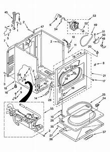 Whirlpool Wgd5820sw0 Dryer Parts