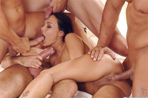 Analed Celebrity Double Penetration Orgy