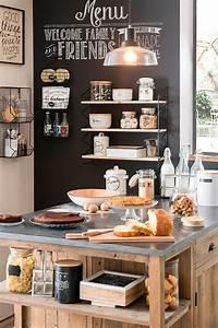 Deco Cuisine Bistrot : esprit bistrot pour la cuisine voici 20 id es pour vous inspirer d co cuisine pinterest ~ Louise-bijoux.com Idées de Décoration