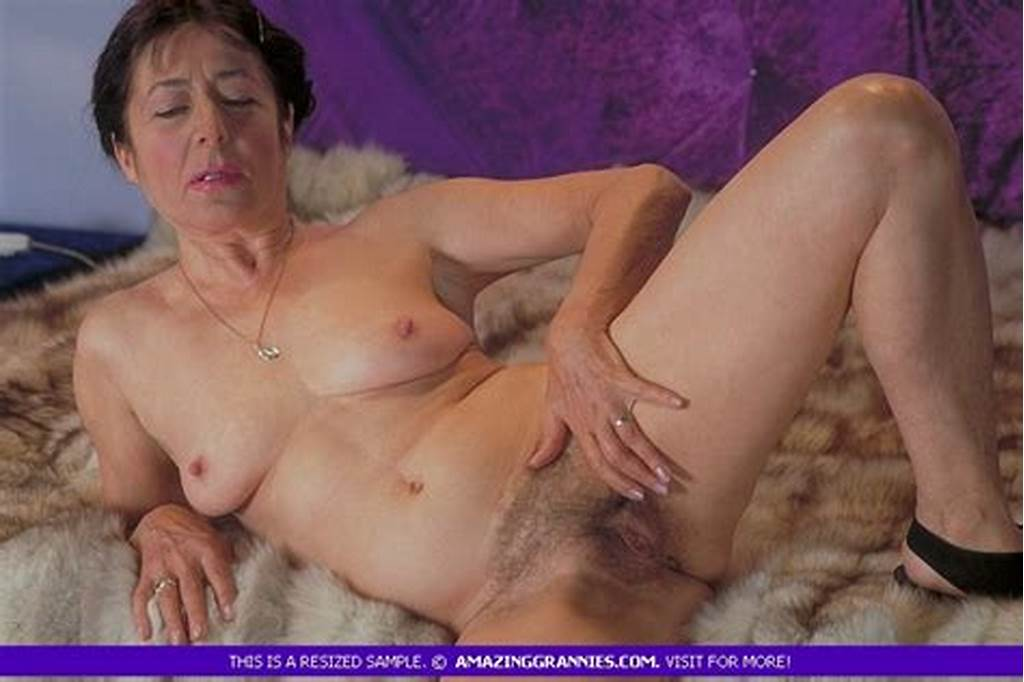 #Lusty #Granny #Takes #Off #Her #White #Blouse #And
