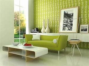 green interior design for your home With contemporary green living room design ideas