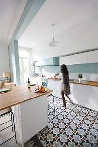 beaux carreaux de ciment With quelle couleur pour salon 4 changer le parquet du salon les plus beaux parquets