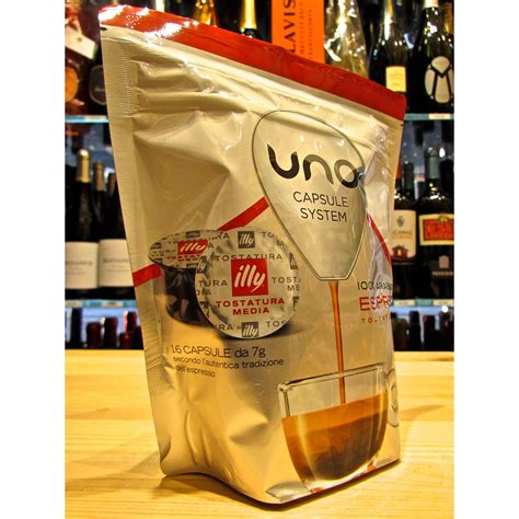 It is also available in decaf in case you still prefer the taste over the caffeine kick. Uno capsule System Illy Caffe Rosso. online sale 16 capsules Illy medium roast. online shop ...