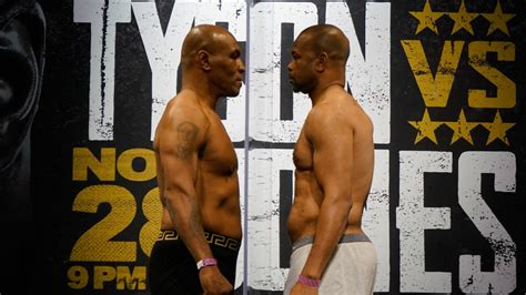 He competed in boxing from 1989 to 2018, and held multiple world championships in four weight classes, including titles at middleweight, super middleweight, light heavyweight, and heavyweight, and is the only boxer in history to start. Mike Tyson vs. Roy Jones Jr.: Fight predictions, expert picks, undercard, start time for ...