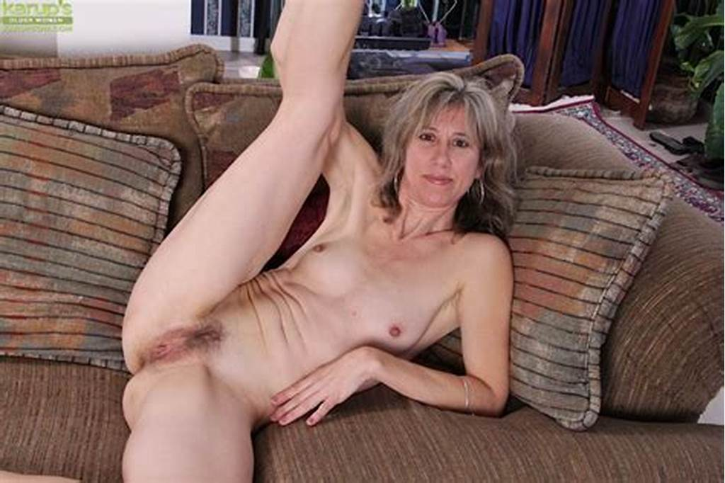 #Slim #Mature #Lady #Undressing #And #Exposing #Her #Hairy #Slit #In
