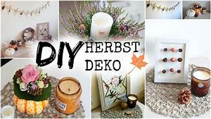 Deko Herbst 2017 : diy herbst deko ideen 2019 helloautumn youtube ~ Watch28wear.com Haus und Dekorationen