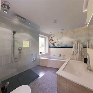 Alternative Zu Tapete : tapete im badezimmer wandtapeten als kreative alternative zu von wasserfeste tapete f rs bad ~ Watch28wear.com Haus und Dekorationen