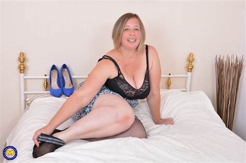 #British #Curvy #Housewife #Playing #With #Herself