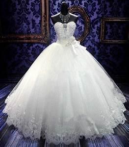 ball gown wedding dresses elegant white princess wedding With puffy princess wedding dresses