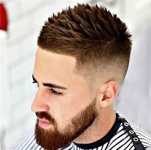 Dégradé Barbe Homme : coupe de cheveux homme degrade avec barbe coupes de cheveux pour cheveux courts ~ Melissatoandfro.com Idées de Décoration