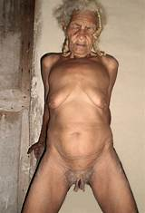 Nudes of old woman