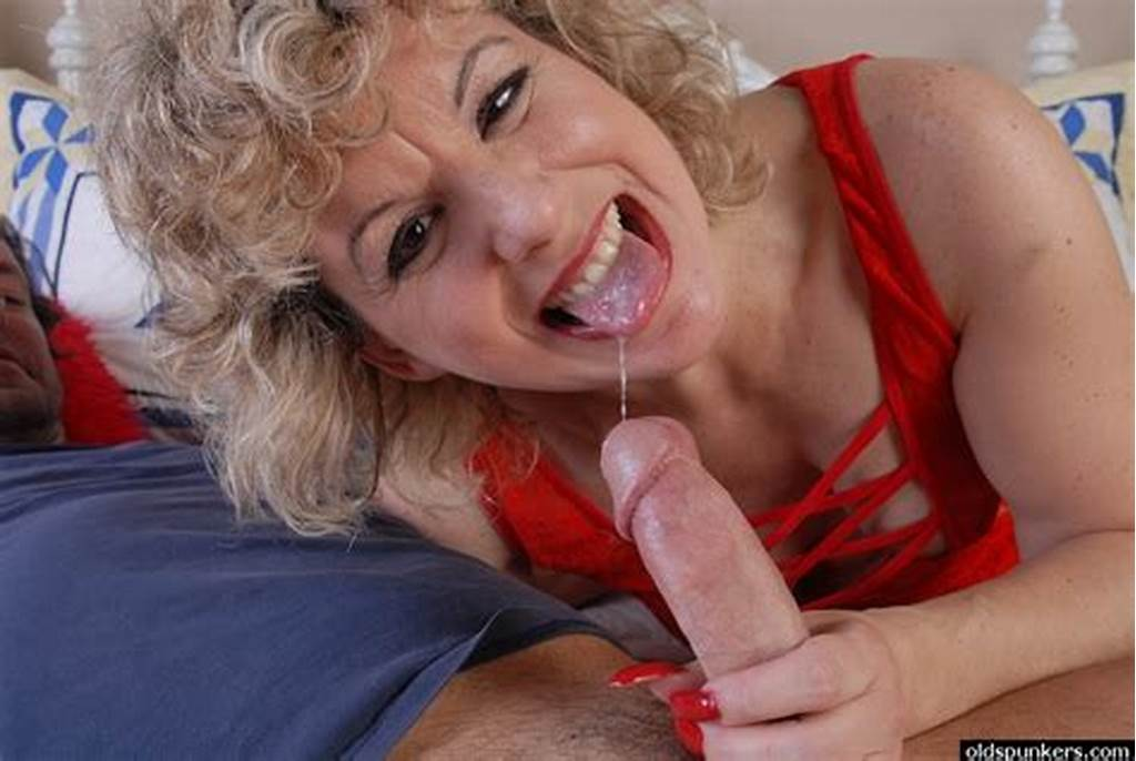 #50 #Plus #Mom #Crystal #Strokes #Dick #And #Gets #Messy #Cumshot #On