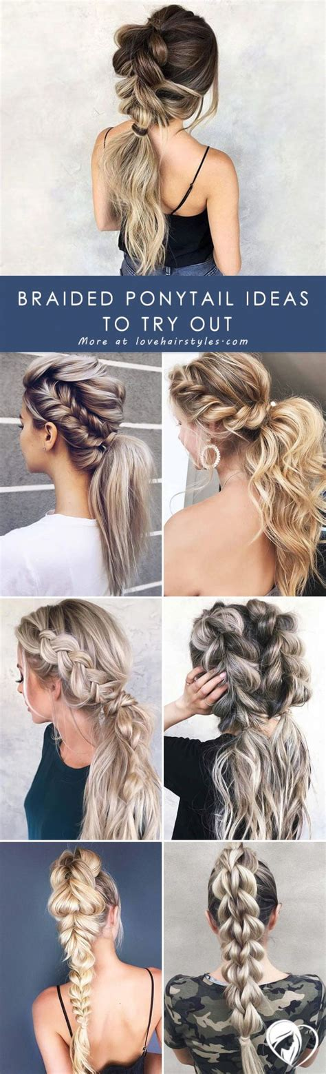 The Magic Of A Braided Ponytail Braided ponytail Long