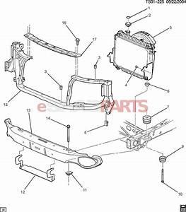 15174444  Saab Bar  Front Bumper Imp