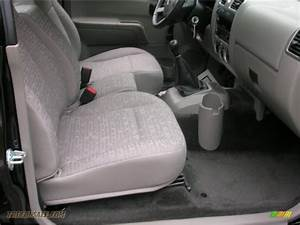2008 Chevrolet Colorado Ls Regular Cab 4x4 In Black