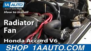 How To Replace Radiator Cooling Fan Assembly 94
