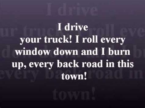 Roy rogers & dale evans. I Drive Your Truck by Lee Brice with lyrics | Country ...