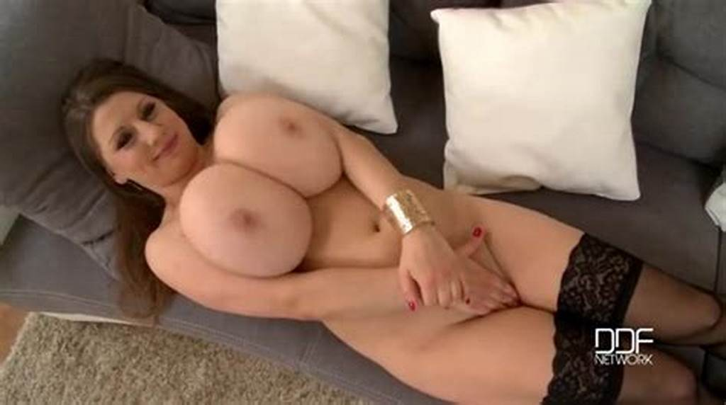 #Huge #Natural #Tits #Swinging #As #The #Hottie #Teases