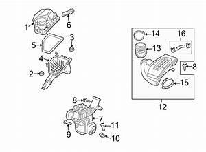 Pontiac G5 Engine Air Intake Hose  2 4 Liter
