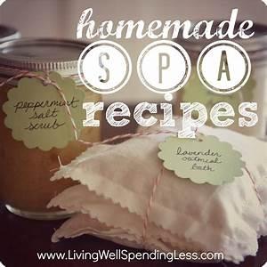 4 Easy DIY Homemade Spa Treatments | Living Well Spending ...