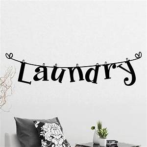 popular laundry room decor buy cheap laundry room decor With where to order vinyl lettering