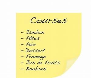 Liste De Courses À Imprimer Gratuitement : bon plan pratique la liste de courses imprimer ~ Nature-et-papiers.com Idées de Décoration