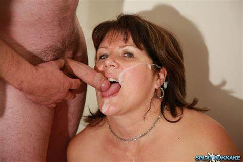 Czech Milf In Facials Bukkake Two By Many