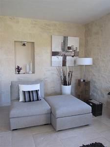 Mur A La Chaux : badigeon a la chaux sur mur pierre photo de les enduits ~ Premium-room.com Idées de Décoration