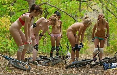 Bike Ridding Nude Teen