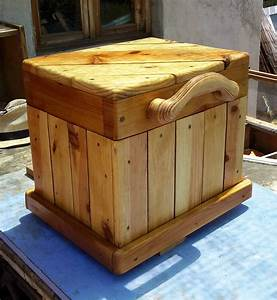 diagonal topped pallet chest seat features carved handle With what kind of paint to use on kitchen cabinets for wood carved candle holders