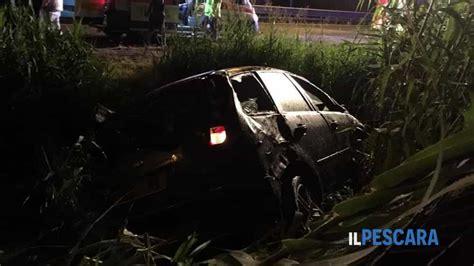 Autopsia per coniugi morti ieri su asse attrezzato. Tamponamento sull'asse attrezzato: due auto si ribaltano ...