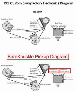 Bareknuckle - Prs 5 Way Wiring
