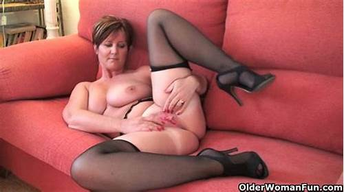 Sultry English Milf Banged In Her Pussy #British #Milf #Joy #Exposing #Her #Big #Tits #And #Hot #Fanny