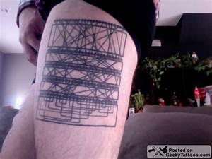 Enigma Machine Tattoo