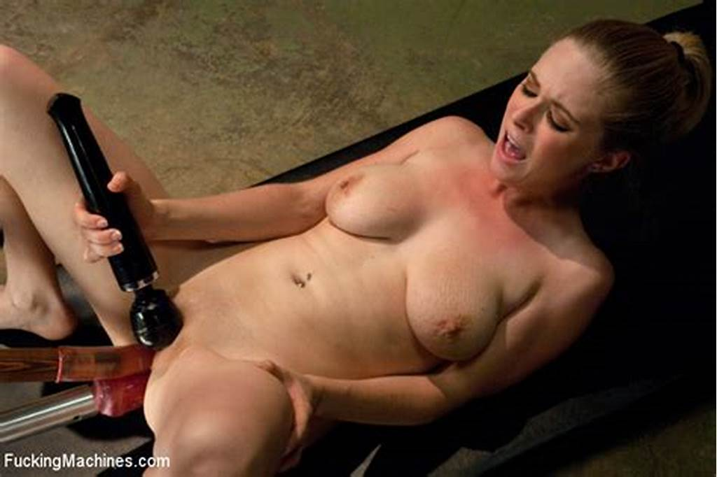 #Blonde #Hardcore #Machines, #Dicks #On #Sticks, #Double