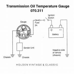 Smiths Eclipse Transmission Oil Temperature Gauges