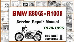 1978 S And Bmw R 100 R Service Repair Manual