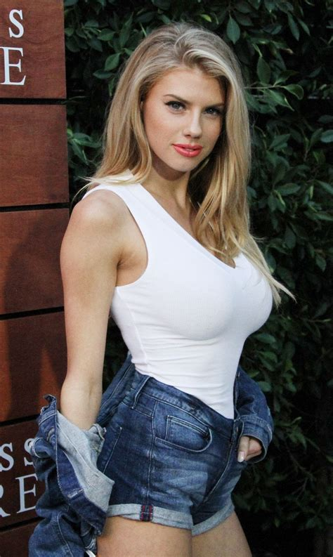 Charlotte Mckinney Amazing Big Boobs In Tight Shirts And