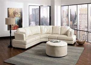 le canape d39angle arrondi comment choisir la meilleure With tapis d entrée avec canapé d angle très confortable