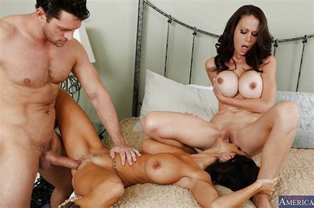 #Gorgeous #Juggy #Milfs #Sharing #A #Young #Cock #And #A #Creamy