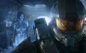 Halo 4 Master Chief And Cortana Wallpaper