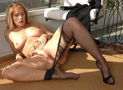 Group Sweaty Holes In Stockings Nylon On Bed