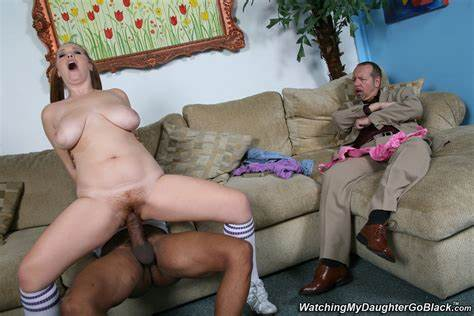 Amber Rayne Taking Bbc Assfuck In Front Of Her Daddy