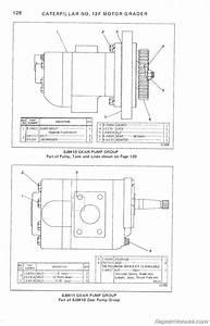 Caterpillar 12f Motor Grader Parts Manual