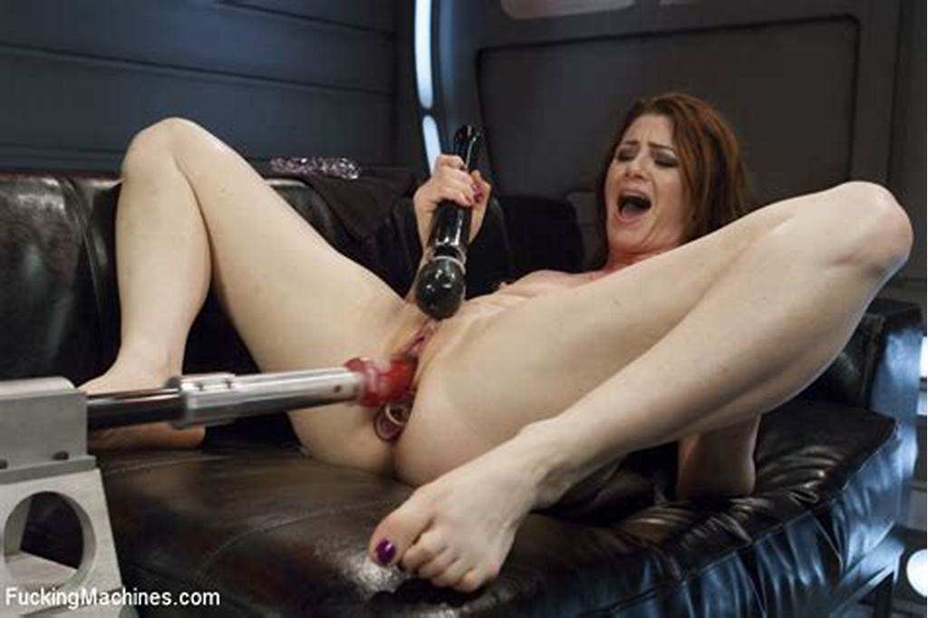 #Sexy #Red #Head #Girl #Cici #Rhodes #Gets #Machine #Ass #Fucking #And #Great #Orgasms #Cumming #Loud