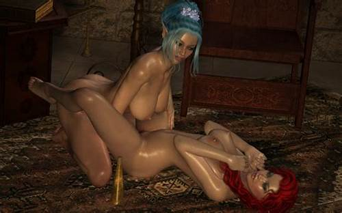 Sexy Elvish Damn Pussylicking Large Monster Prick #Pussy #Licking #3D #Elven #Maidens #In #A #Nice #Threesome